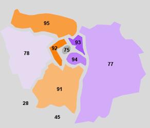 Zones d'intervention Le Conseil Informatique
